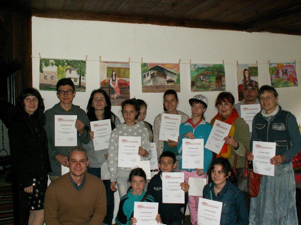 """28th National children plainer """"Sbadnata prikazka"""" exhibition"""