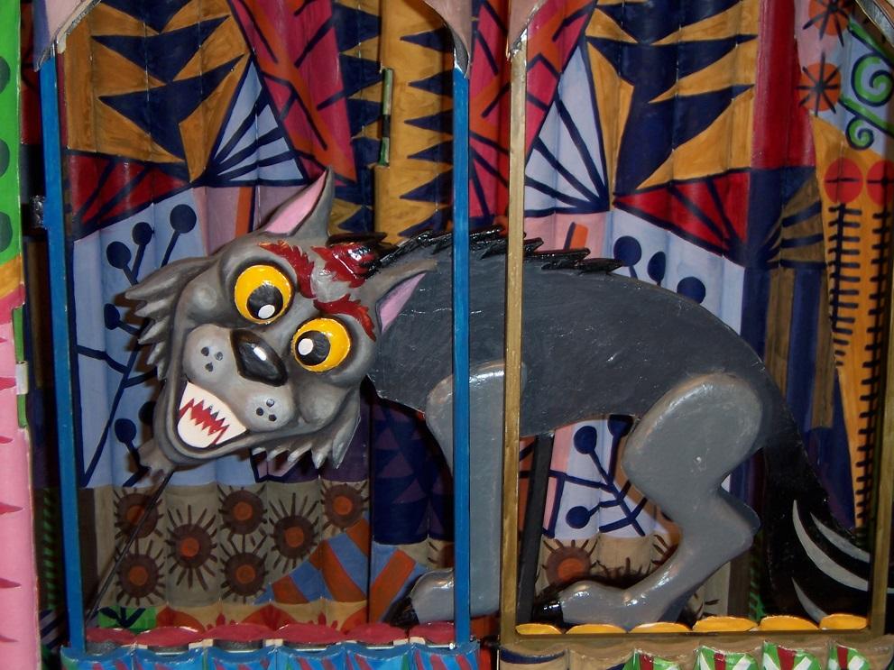 """""""Глупавият вълк"""" – куклен театър на открито в МАИР """"Боженци"""""""